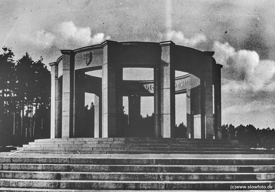 Abstimmungsdenkmal, errichtet 1928 in Allenstein-Neu-Jakobsberg