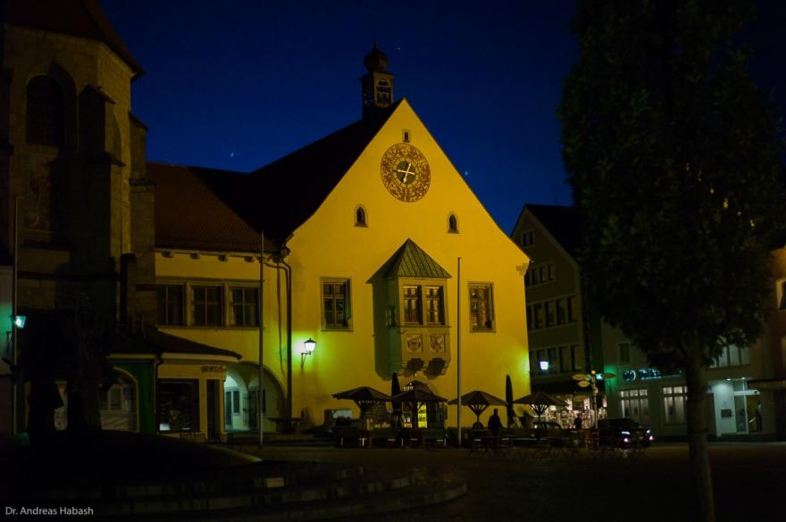 Kirche nachts
