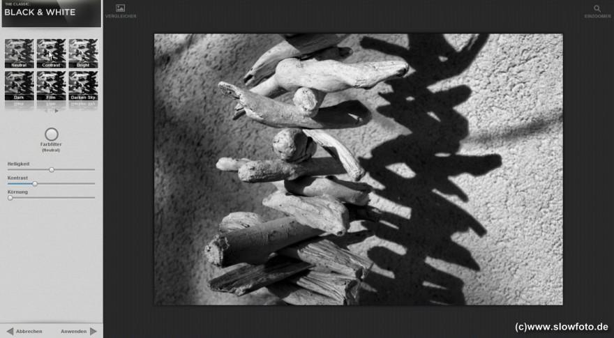 Snapseed SW Film
