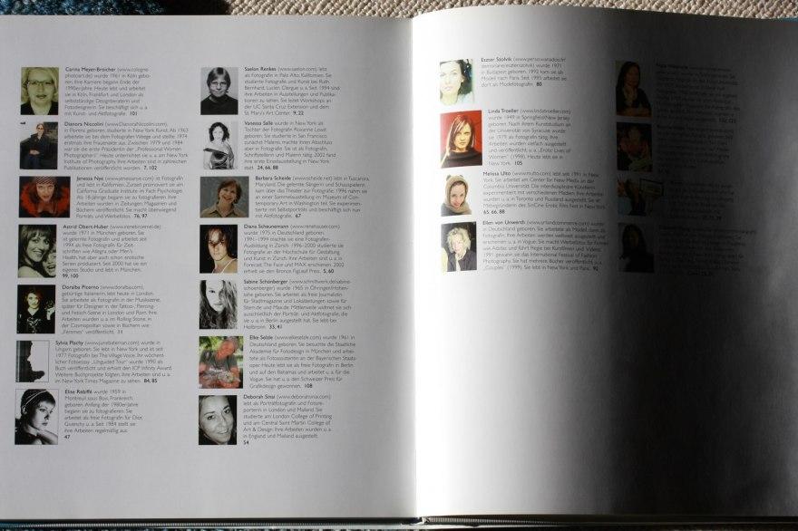 die 54 Fotografinnen im Porträt