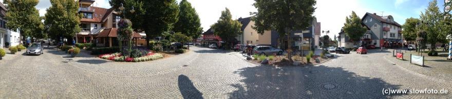kleiner Kreisverkehr in Wasserburg