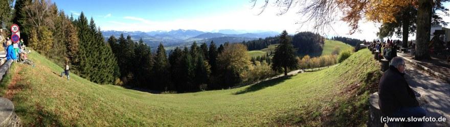 Vorarlberg vom Pfänder aus