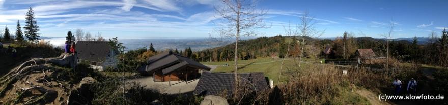 bayerischer Bodensee vom Pfänder aus