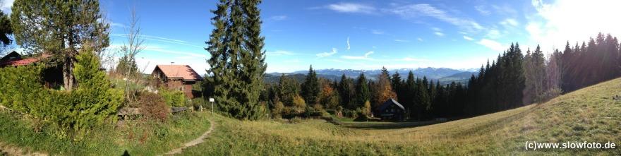 Bergwelt oberhalb von Bregenz