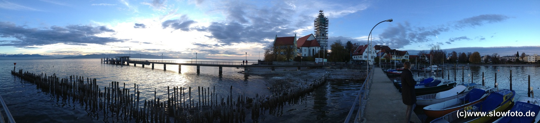 Blick auf die Halbinsel