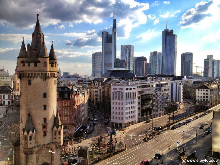 Frankfurt zu Füßen