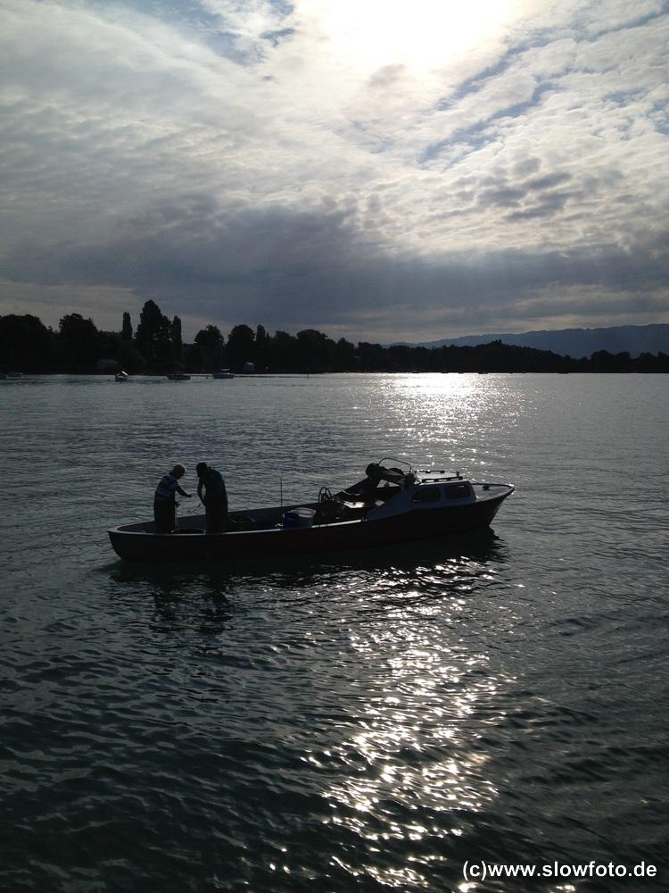 Morgenstimmung am Bodensee.
