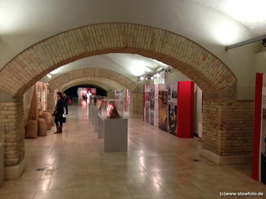 Die Ausstellung zum 2. Weltkrieg