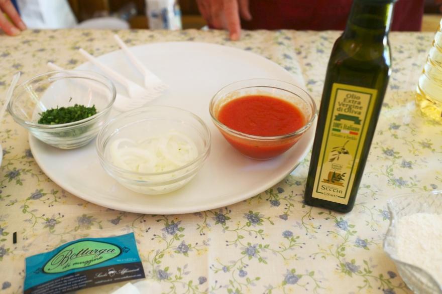 für die Tomatensoße