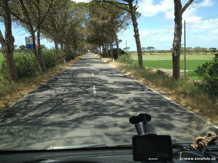 naturschöne Strassen