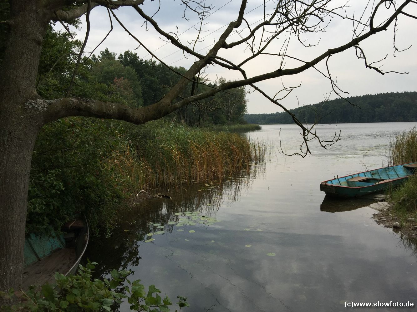 typischer See durch Toteis