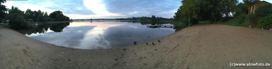 Seenlandschaft am Campingplatz