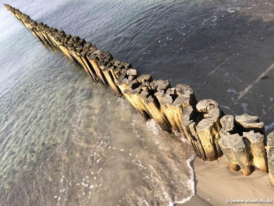 barfuß in der Ostsee
