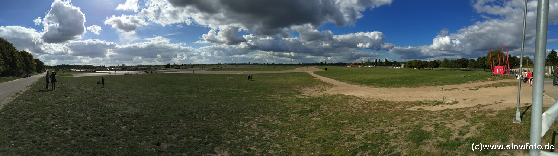 Tempelhof - auch ohne Flugverkehr :-)