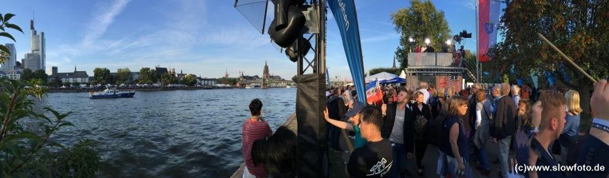 am Sachsenhäuser Ufer waren die Bundesländer vertreten