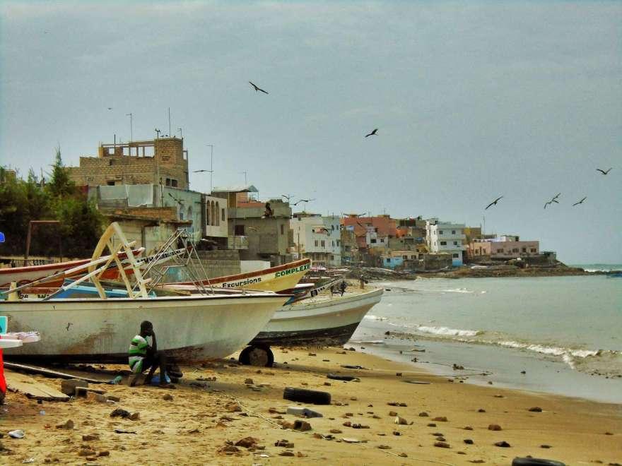 Senegal - Dakar - auf dem Weg zur Ile de Ngor
