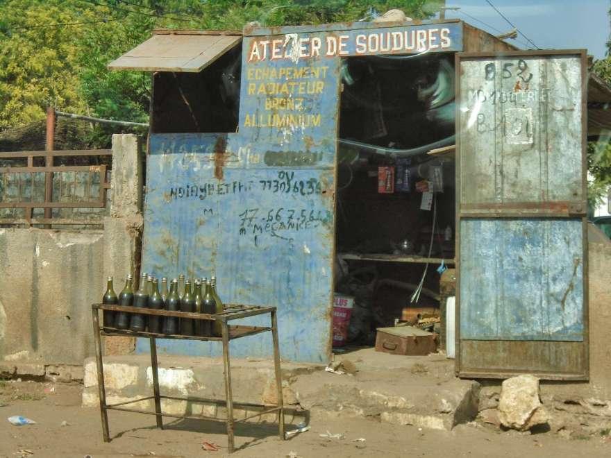 Senegal - Tankstelle