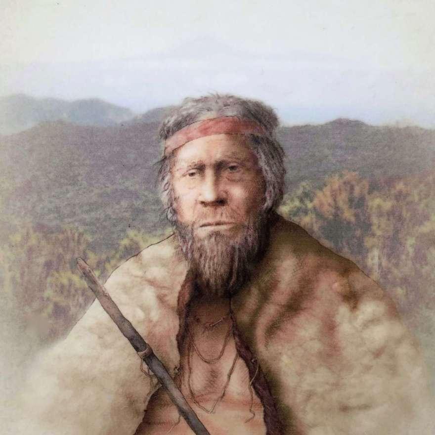 auch wenn ich mich oft sehr alt gefühlt habe, das bin nicht ich sondern der Ureinwohner