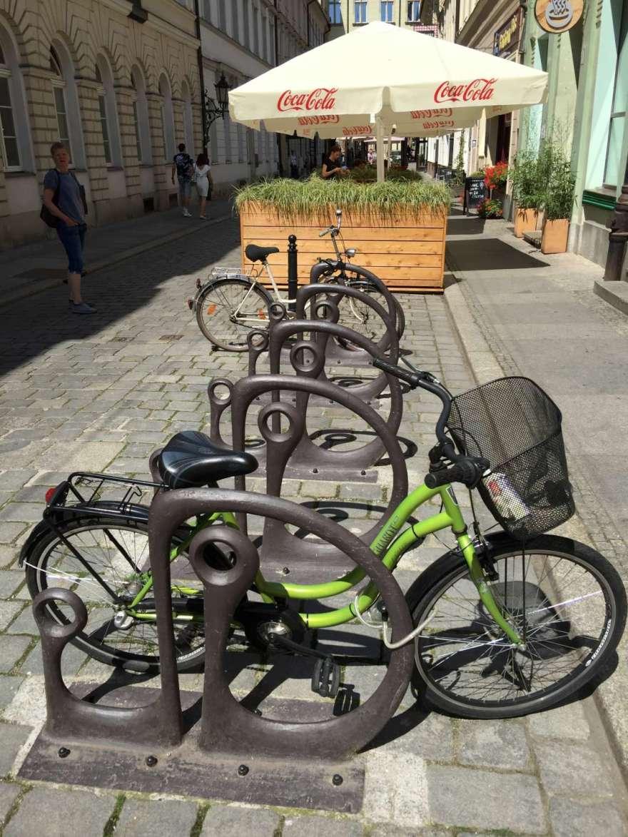 Fahrräder sind beliebt