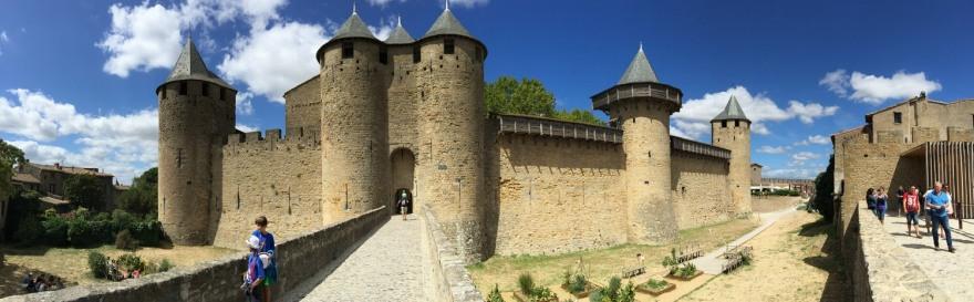 Carcassonne Festung Pano