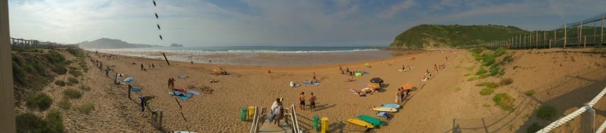 und den Strand