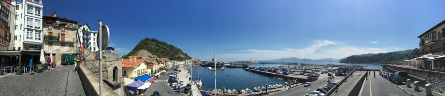 Getaria Hafen