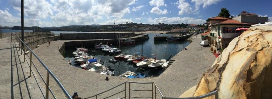 und Hafenpanorama