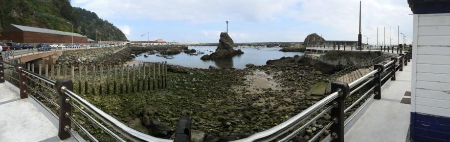 massiv bewehrter Hafen