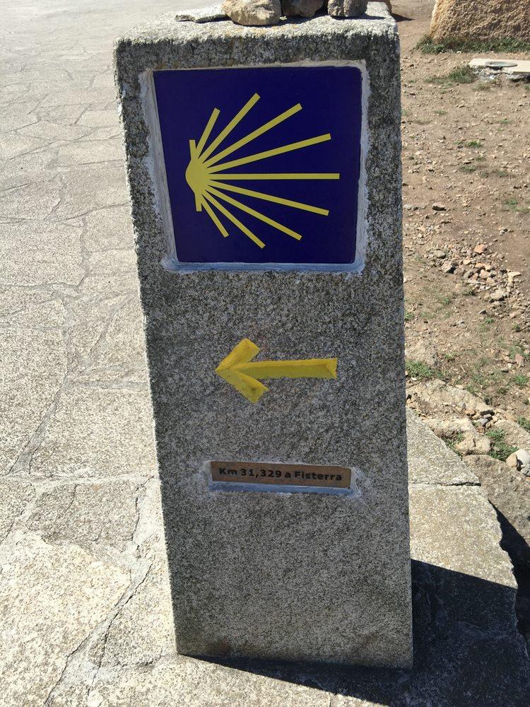 nur noch 31,329km bis Fisterra