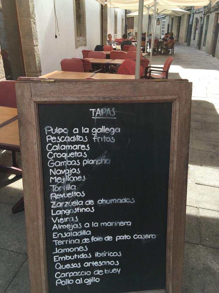 Carnes, Pescados, Pastas oder Tapas -alles lecker
