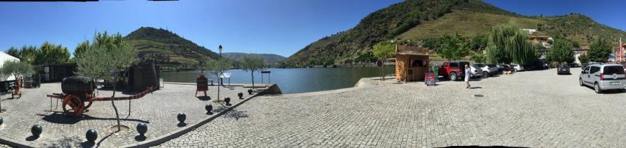 auf die Douro Schleife