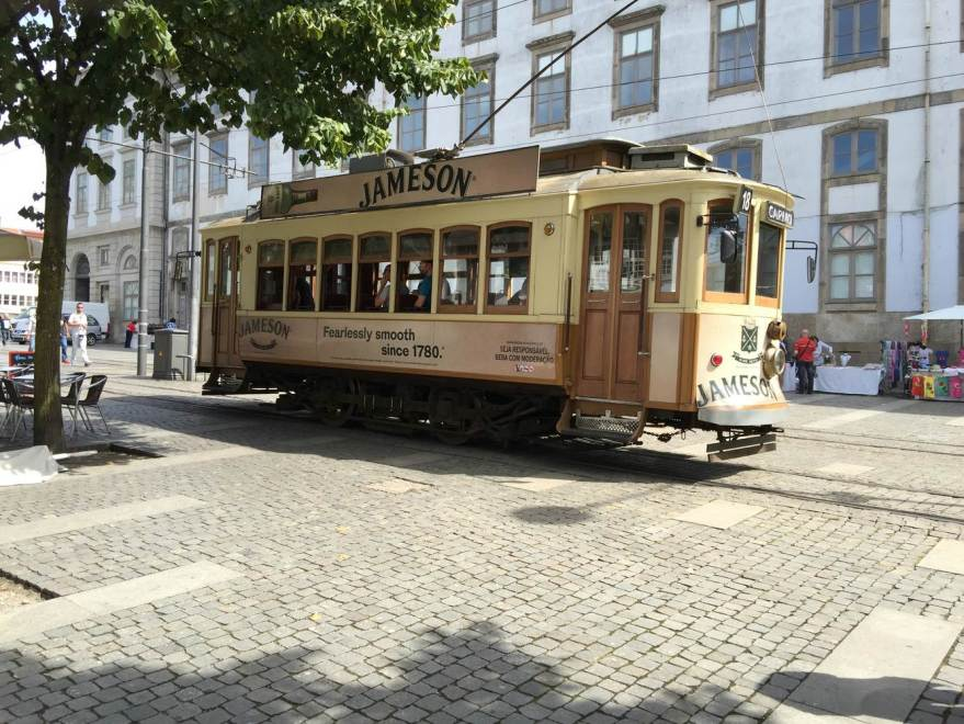 Porto`s historische Trambahn