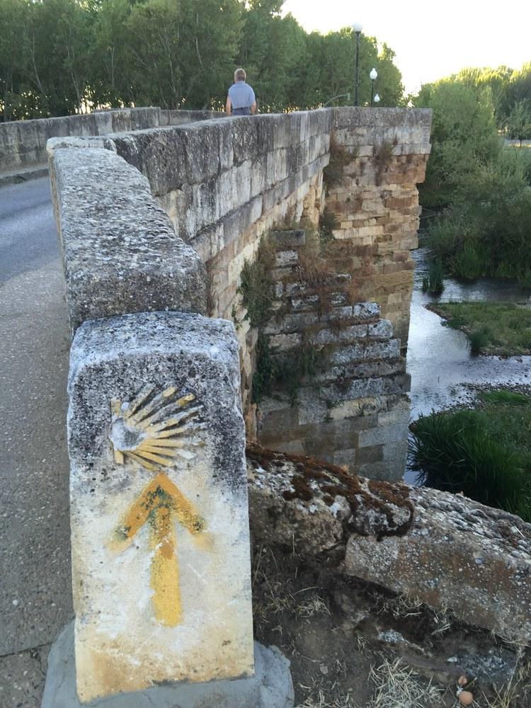 römische Brücke, heute auch Camino