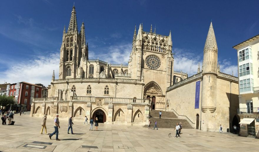 Burgos 21 Kathedralen Stadtviertel