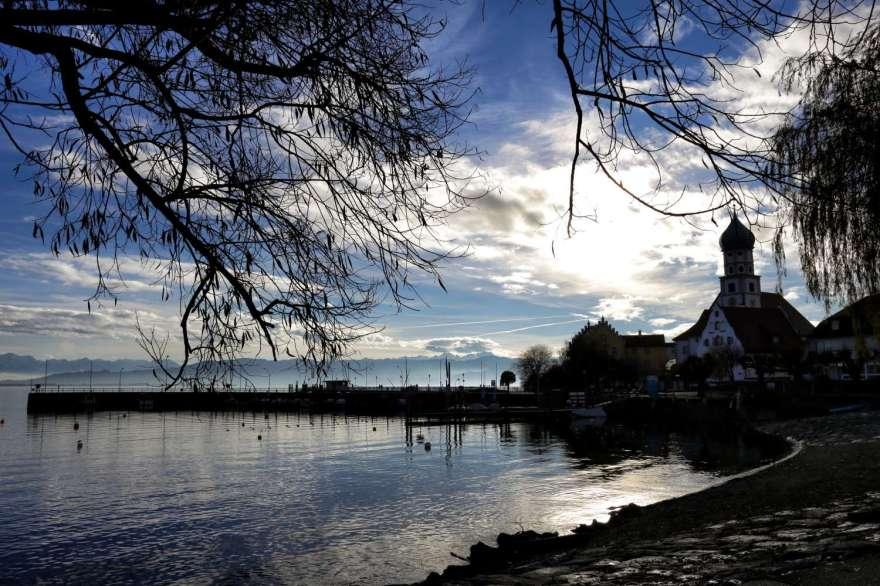 Wasserburg Bodensee Hafen