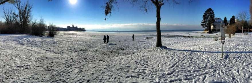 See(Uferan)Gefrörne
