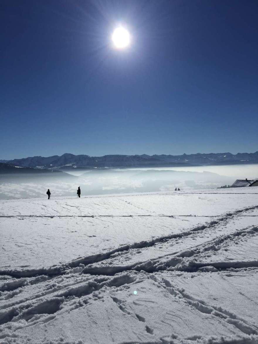 etwas höher (1013m NHN) liegt Sulzberg